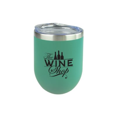 12 Oz. Sipper Wine Tumbler