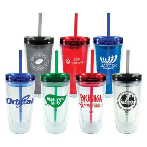 16 Oz. Translucent Orbit Tumbler