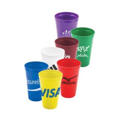 20 Oz. Plastic Stadium Cup