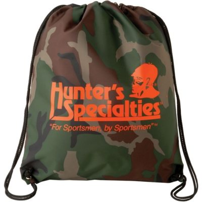 Camouflage Color Drawstring Backsack Bag