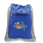 Double Square Drawstring Backpack