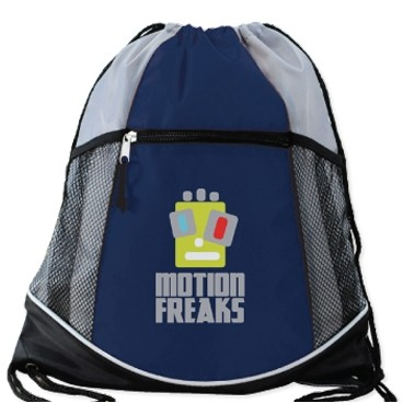 Double Take Drawstring Backpack Bag