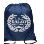Solid Color Drawstring Backsack Bag