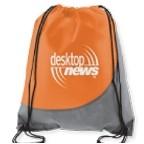 Swoosh Non-Woven Drawstring Backpack Bag