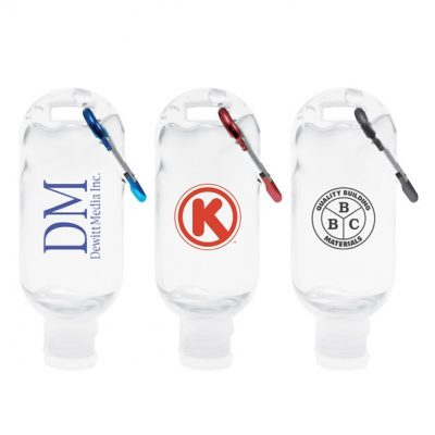 Care-A-Tizer Hand Sanitizer w/Carabiner