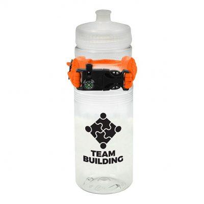 24oz. Cougar Mountain Bottle & Paracord Bracelet