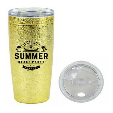 20 Oz. Metallic Ice Viking® Nova Tumbler
